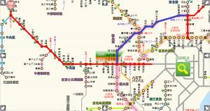 境古河IC⇒岡谷ICルート