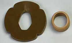 木刀の鍔(つば)